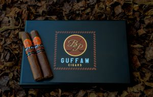 Guffaw Limited Edition cigars feature an exquisite corojo wrapper