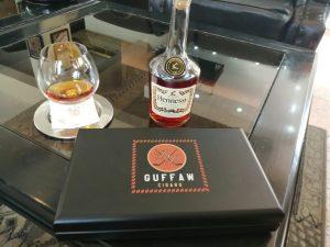 Enjoying Guffaw and Cognac